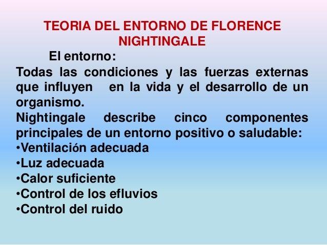 TEORA DEL ENTORNO DE FLORENCIA