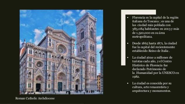 Florencia, Italia Slide 2