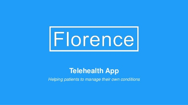Telehealth App Helping patients to manage their own conditions