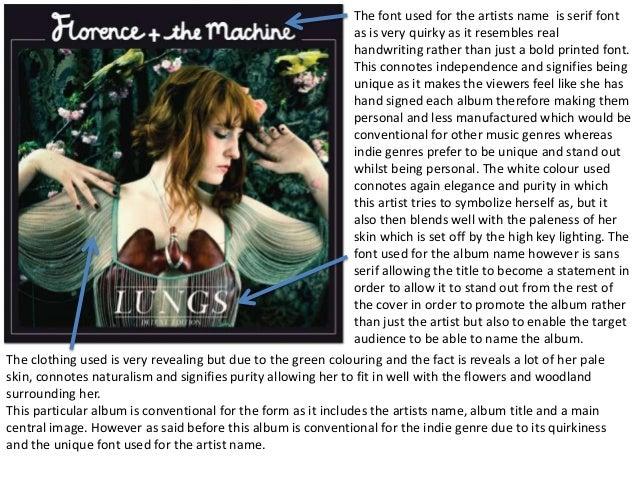 Florence album analysis Slide 2