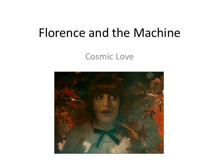 Florence And The Machine Album Cover Cosmic Love