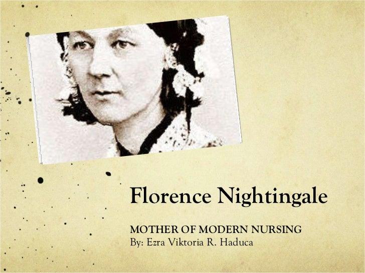 The nightengale theory of nursing