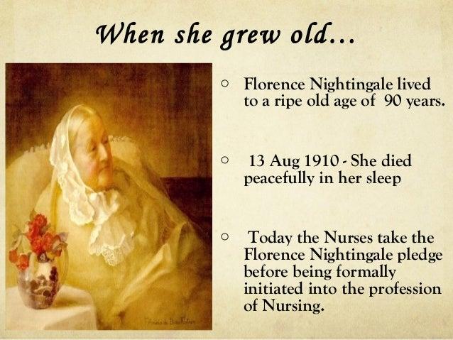 ... 12. When She Grew Oldu2026 O Florence Nightingale ...
