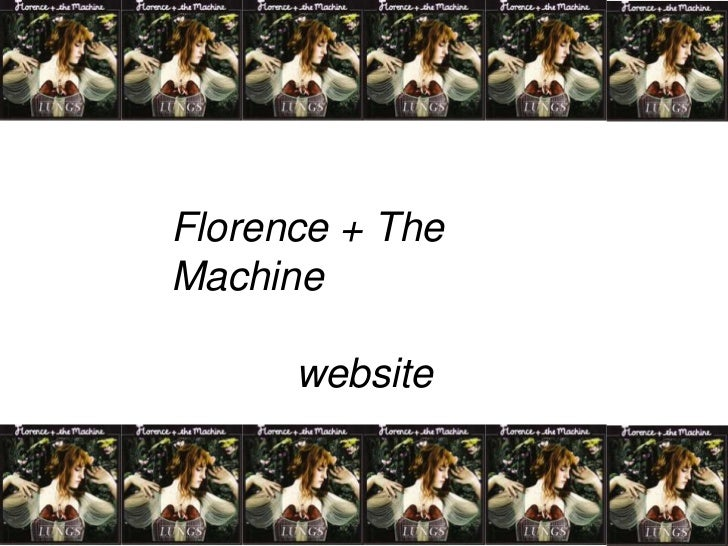 Florence + The Machine<br />website<br />