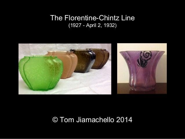 The Florentine-Chintz Line  (1927 - April 2, 1932)  © Tom Jiamachello 2014