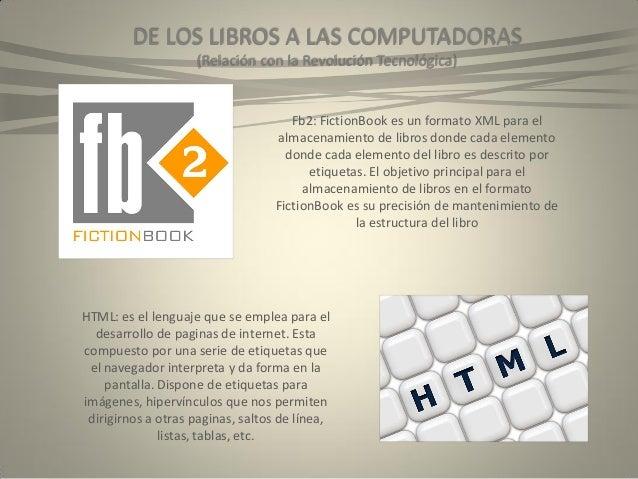 DE LOS LIBROS A LAS COMPUTADORAS (Relación Con La