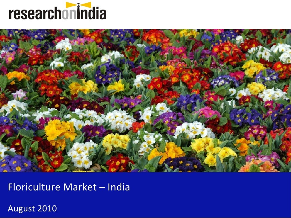 floriculture report