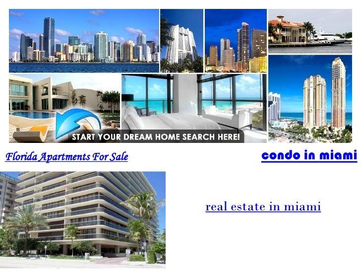 Florida Apartments For Sale            condo in miami                              real estate in miami