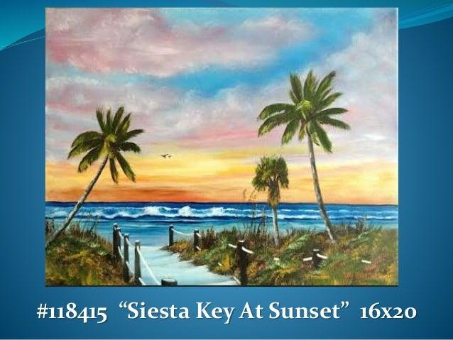Oil Painting Art Beach With Catamaran