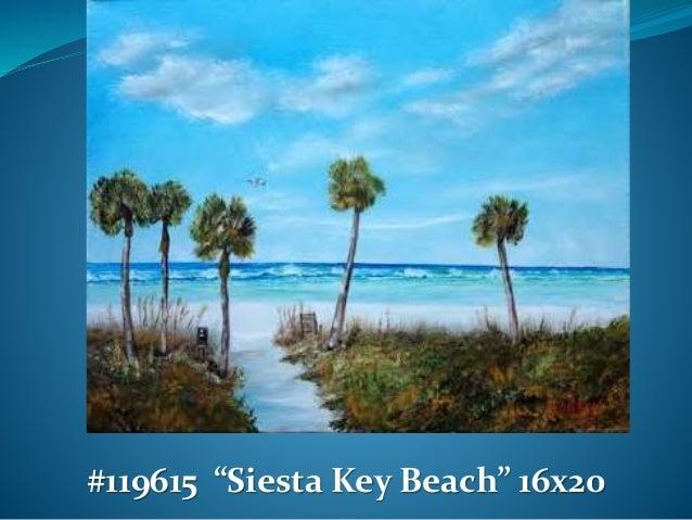 Florida Beach Scene Oil Paintings For Sale