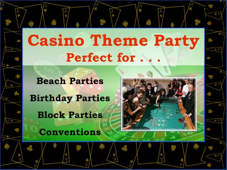 Casino party events