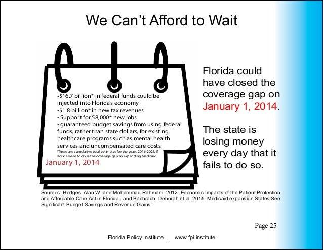Florida Medicaid Expansion Chartbook