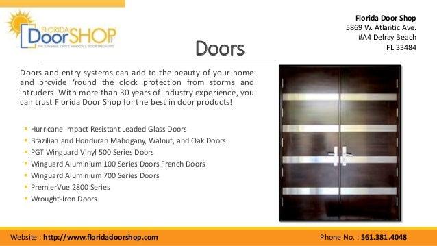 Doors ...
