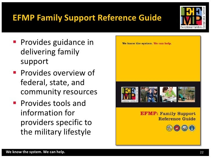 Florida efmp overview june 2012 handouts1 efmp family support reference guide sciox Image collections