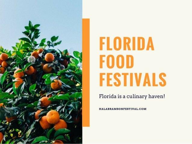 Florida Food Festivals