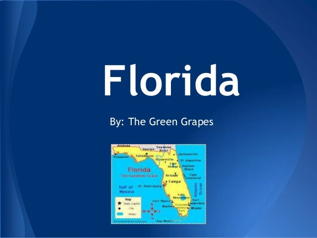 FloridaBy: The Green Grapes