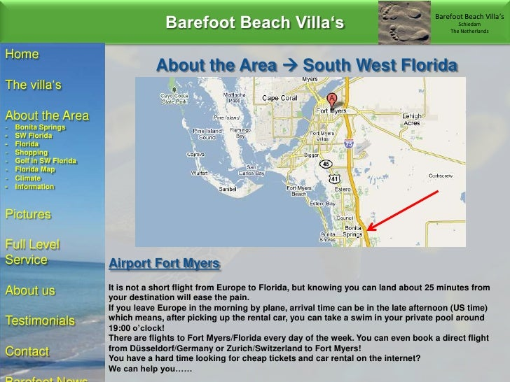 Barefoot Beach Florida Map.Florida Vacation Homes In Bonita Springs