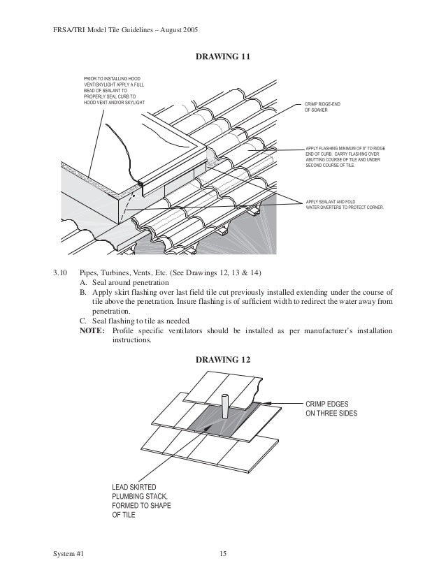 Florida installation manual(frsa) manual de instalacion