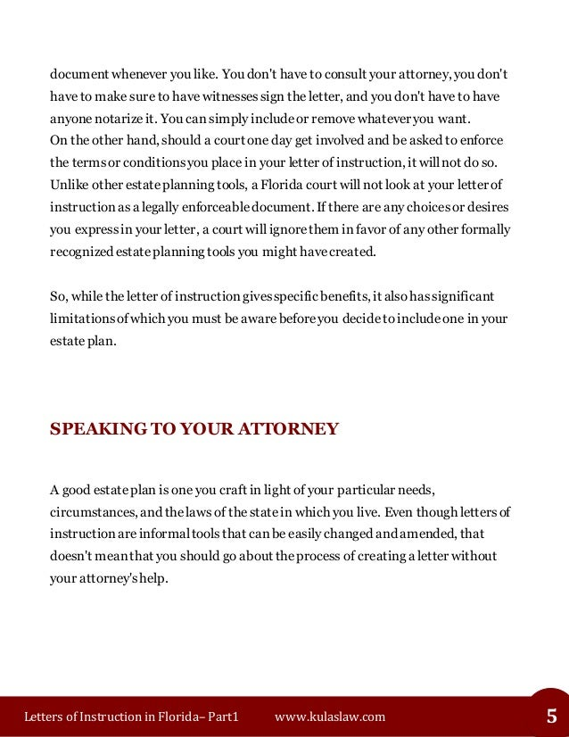 Florida letters of instruction part1 letters of instruction thecheapjerseys Choice Image
