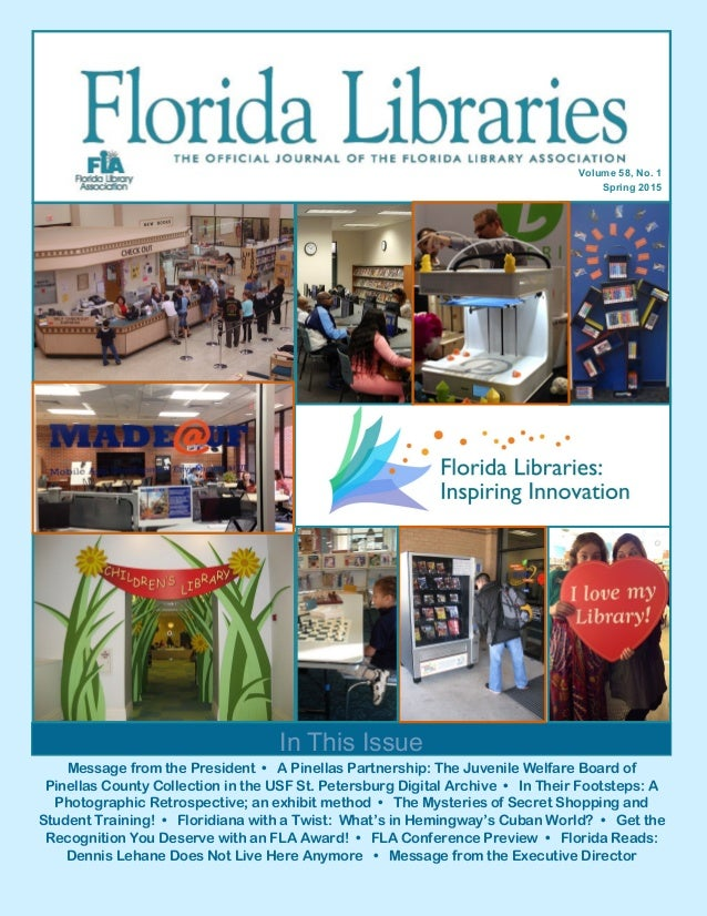 Message from the President • A Pinellas Partnership: The Juvenile Welfare Board of Pinellas County Collection in the USF S...