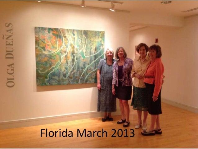 Florida March 2013