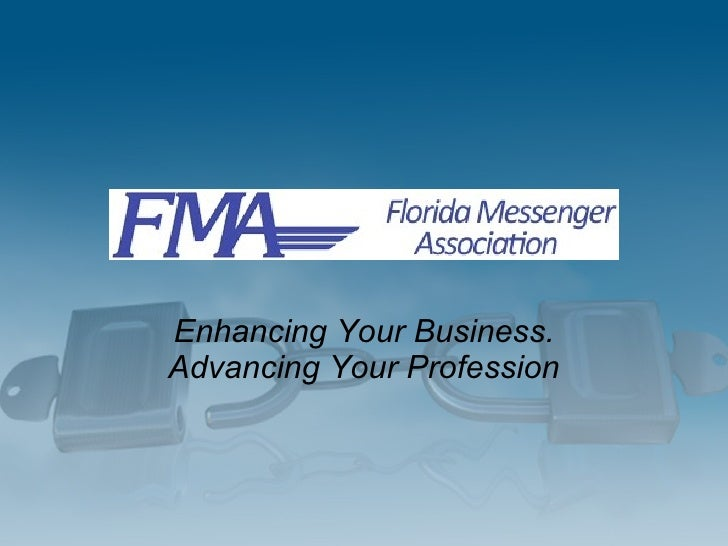 Enhancing Your Business. Advancing Your Profession