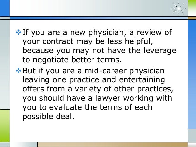 Florida non compete agreements physician employment contracts – Physician Employment Agreement