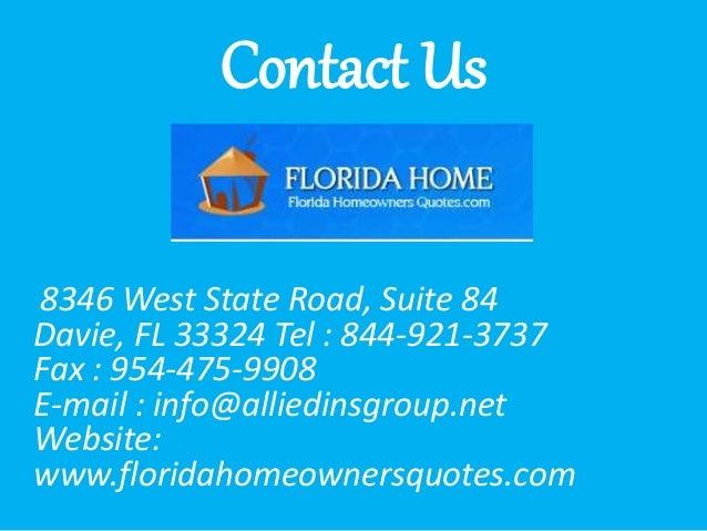 Florida Homeowners Insurance Companies