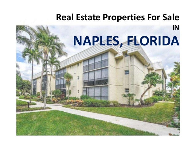 Real Estate Properties for sale in Naples Florida