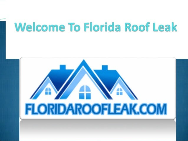 Florida Roof Leak provide best repair Service all work comes with warranty . Roof Tile Repair Shingle Roof Repair. Flat R...