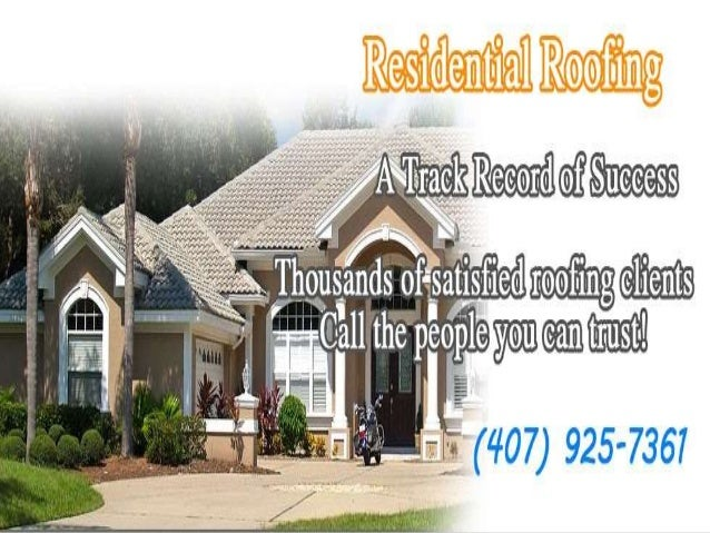 About Us For Florida Roof Leak Roof repair cost in Orlando let us fix and repair your roof leak for less than you think ro...