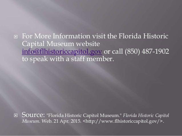 Florida's historic capitol