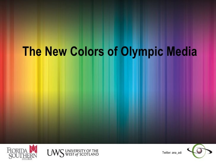 The New Colors of Olympic Media