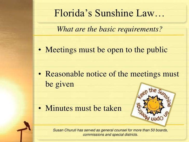 open public records florida