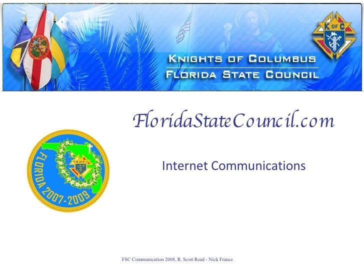 FloridaStateCouncil.com Internet Communications