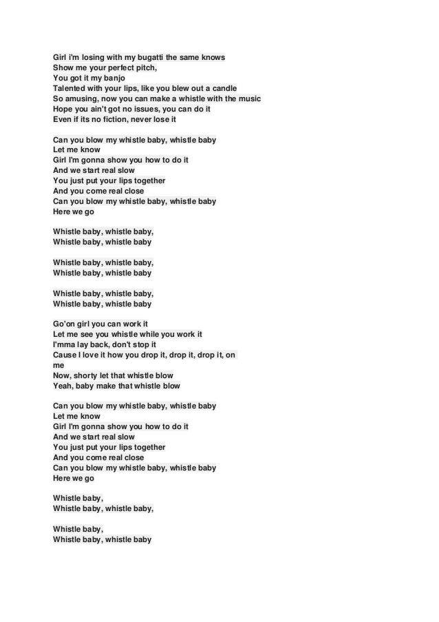 Glee Cast - Whistle Lyrics | MetroLyrics