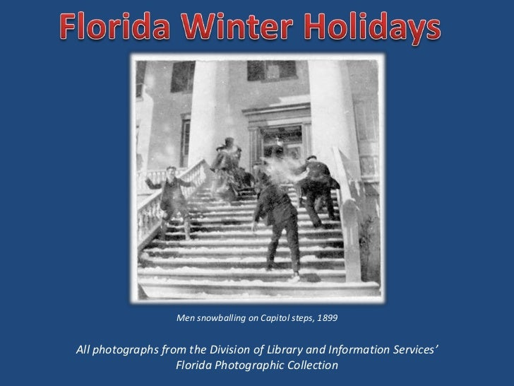 Men snowballing on Capitol steps, 1899All photographs from the Division of Library and Information Services'              ...