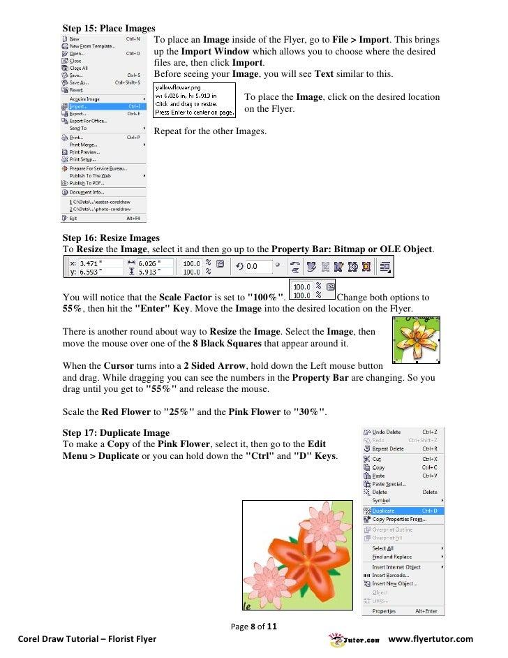 corel draw 8 tutorials pdf