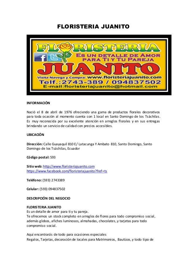 Floristeria Juanito