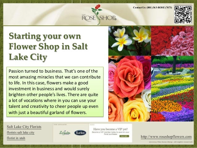 A Sample Flower Shop Business Plan Template