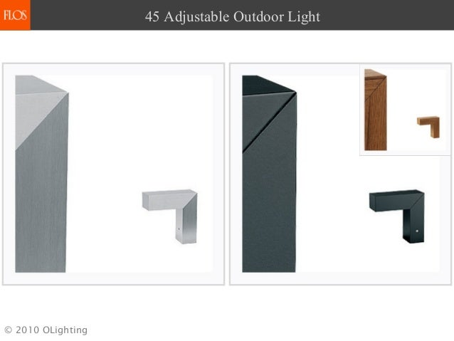 Flos outdoor lighting 2010 olighting 45 adjustable outdoor light aloadofball Choice Image