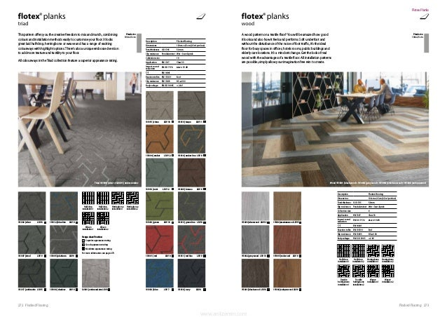 273Flocked Flooring272 Flocked Flooring This pattern offers you the creative freedom to mix and match, combining colours a...
