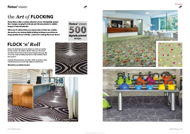 275Flocked Flooring274 Flocked Flooring Flotex Vision offers a unique collection of over 500 digitally printed floor desig...