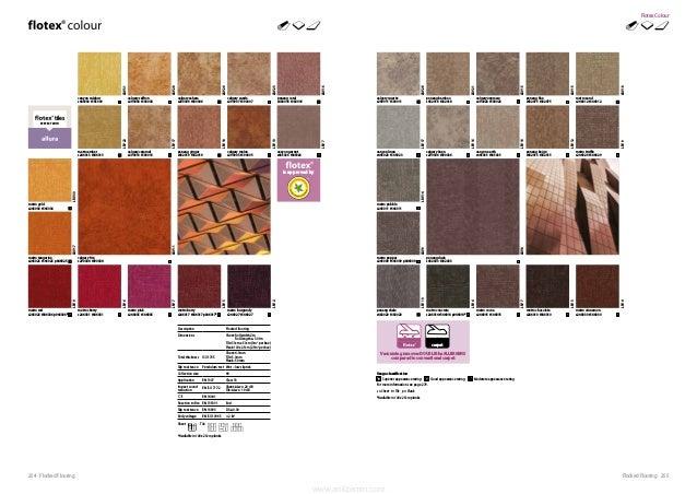 255Flocked Flooring254 Flocked Flooring *Available in 100 x 25cm planks. Description Flocked flooring Dimensions Sheet: Ro...