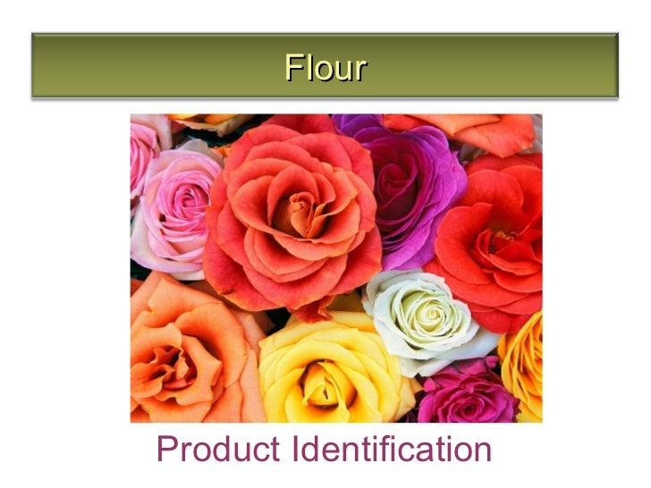 FlourProduct Identification