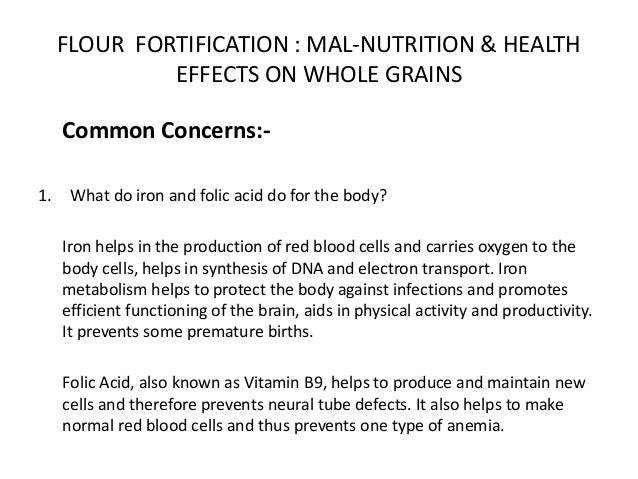 effects of malnutrition on the body