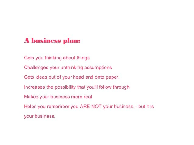 Flourishing business how to create a personal business plan on one …