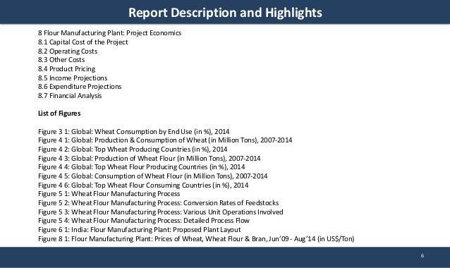 Flour Manufacturing Plant Project Report