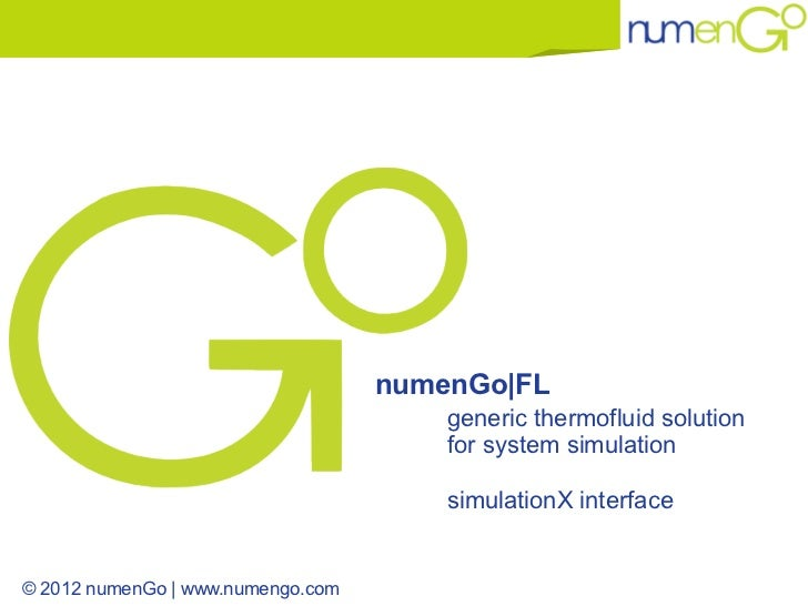 numenGo|FL                                       generic thermofluid solution                                       for sy...