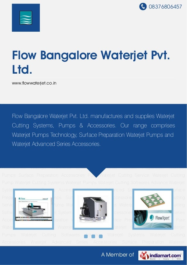 Waterjet Systems by Flow bangalore-waterjet-pvt-ltd